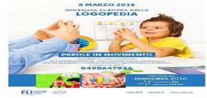 Giornata Europea della Logopedia, 6 Marzo 2016