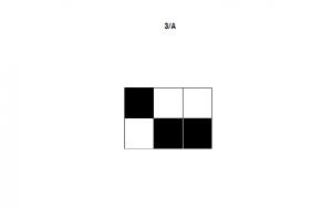 Figura 3. Esempio di item utilizzato nella prova di Rievocazione di configurazioni visuo-spaziali