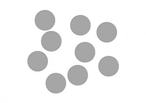 Figura 4. Scheda test della prova di Rievocazione di sequenze visuo-spaziali