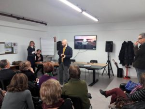 Presentazione MetaIntelligenze da parte del presidente Daniele Armetta inizio
