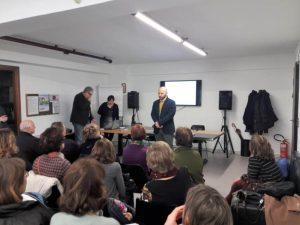 Presentazione MetaIntelligenze da parte del presidente Daniele Armetta