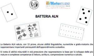 La Batteria di Prove per le Abilità Linguistiche e Numeriche di Base (ALN)