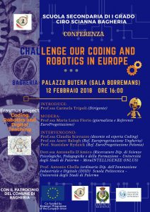 "Conferenza: ""Challenge our coding and robotics in the world"""